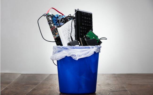 Como descartar o lixo eletrônico?