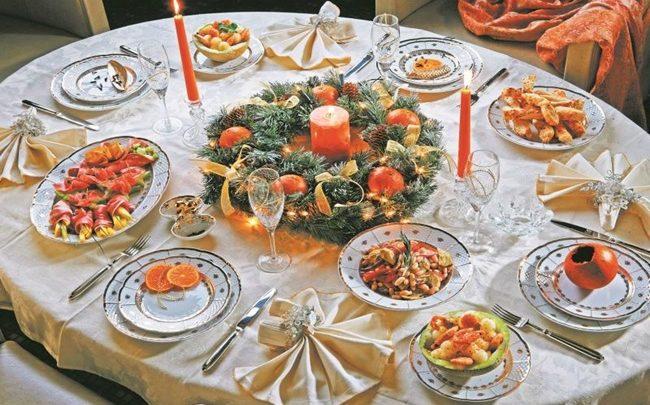 Pratos típicos de Ano-Novo