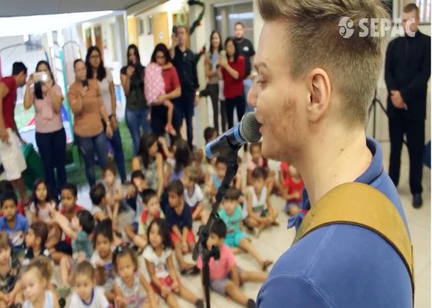 SEPAC, Linha de Fraldas BabyBoo e Michel Teló: doação de fraldas em Goiânia