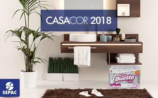 Duetto Velvet e CasaCor 2018 - SEPAC