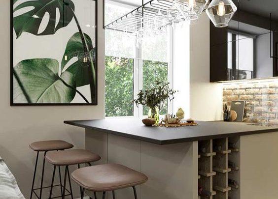 Quadros na decoração da cozinha