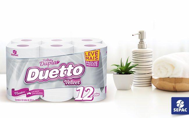 Surpreenda-se com a maciez de Duetto Velvet