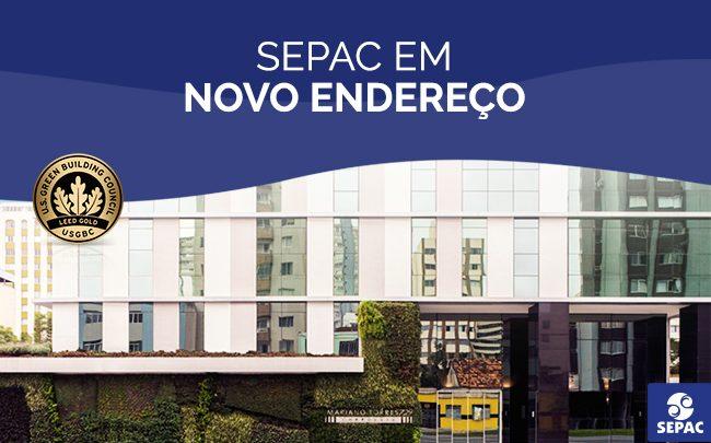 A SEPAC em Curitiba está em novo endereço com a certificação LEED GOLD for Core & Shell - SEPAC