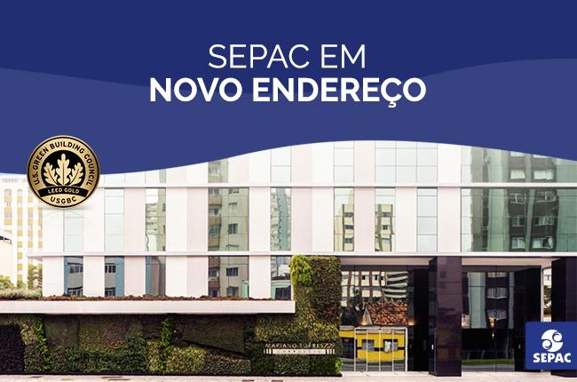 A SEPAC em Curitiba está em novo endereço com a certificação LEED GOLD for Core & Shell