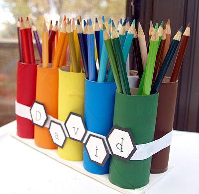 Artesanatos com rolos de Papel Paloma - SEPAC