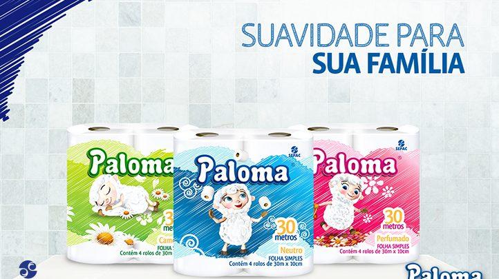 Papel Paloma - mais maciez e suavidade para sua casa - SEPAC