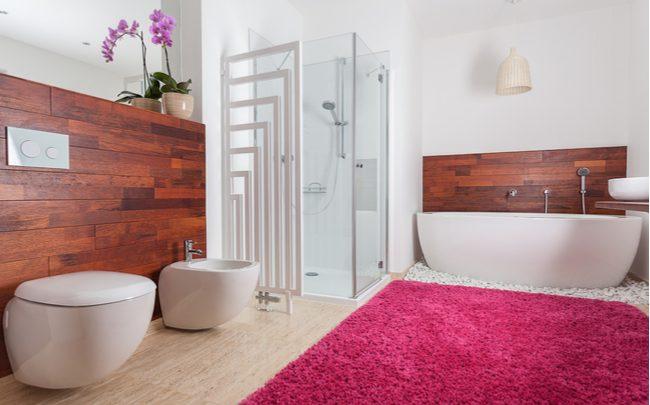Cores no banheiro dicas e ideias