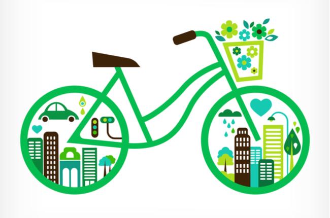 Meio de transporte sustentável