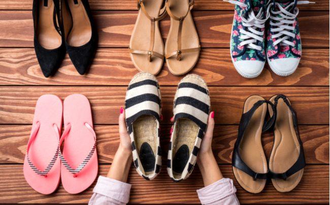 Como cuidar dos calçados