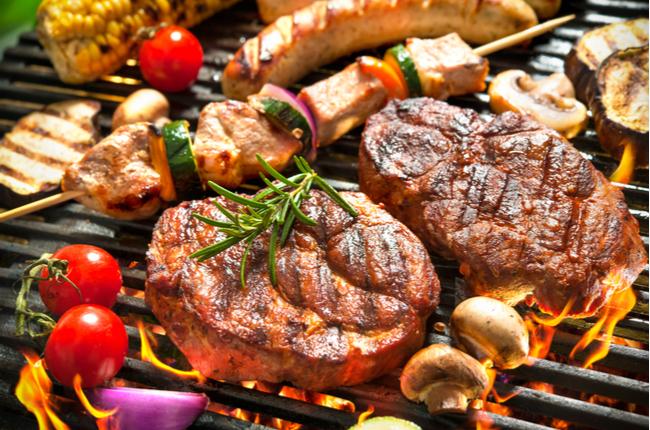 Temperos para carne de churrasco