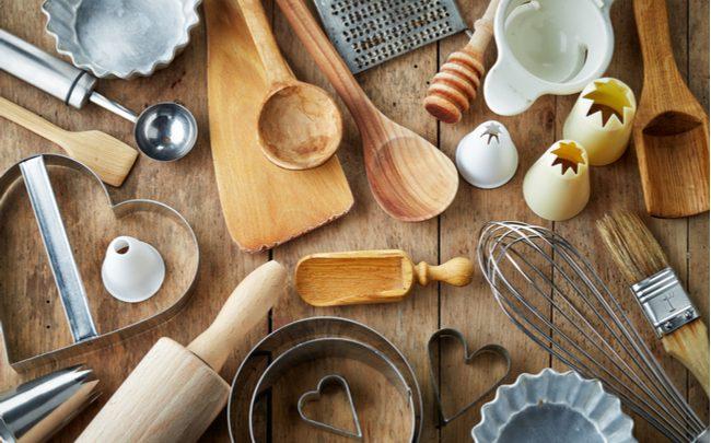 Cozinha equipada, lista de utensílios básicos