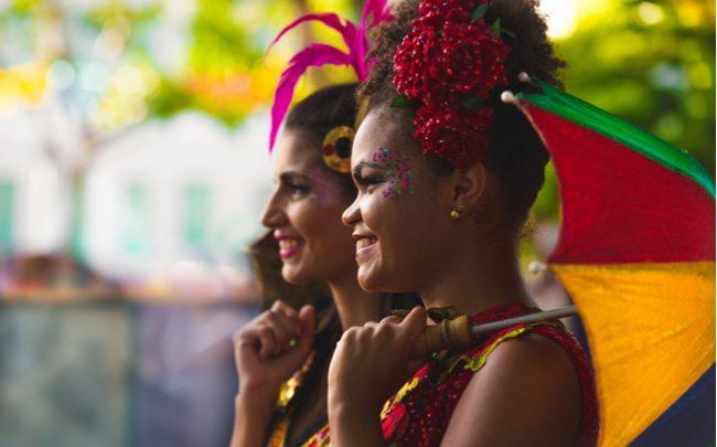 Fantasia de Carnaval feita em casa