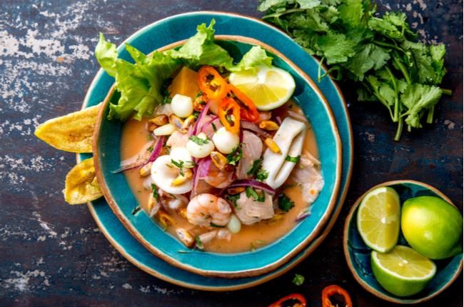 Gastronomia peruana: 5 receitas deliciosas