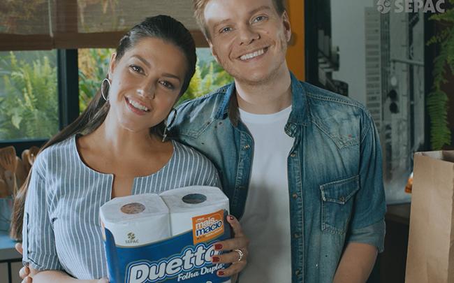 Nova campanha da Linha Duetto com a Família Teló - SEPAC