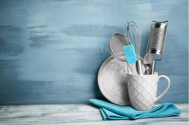 Obtenha utensílios para cozinhar - SEPAC