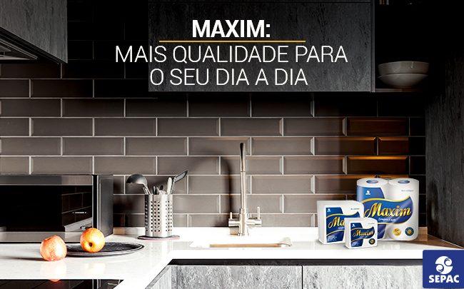Toalhas de papel Maxim - mais qualidade para o seu dia a dia