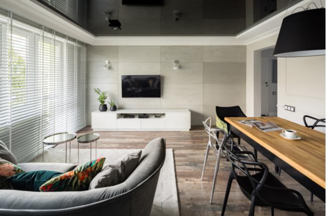 Teto da casa preto: por que adotar essa decoração