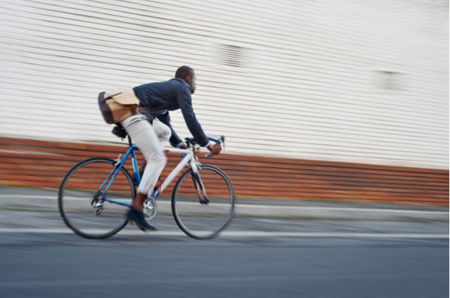 Adote o transporte sustentável