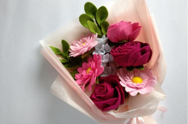 flores decorativas - SEPAC