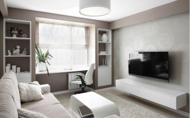 distância sofá e tv
