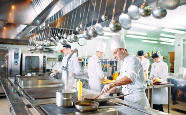 chapéu de cozinheiro - SEPAC