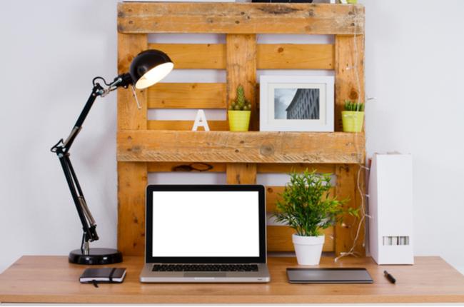 pallet escritório - SEPAC