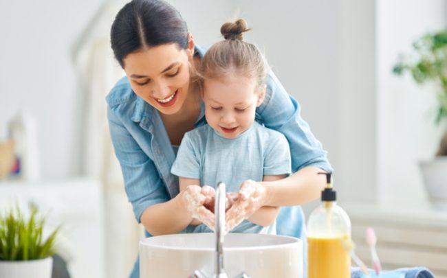 lavar as mãos - SEPAC