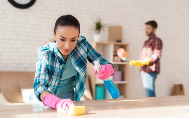 como limpar a casa - SEPAC