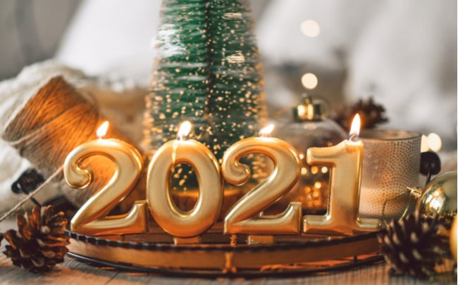 Decoração de Ano-Novo