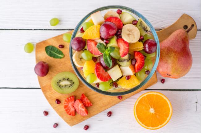salada de frutas saudável - SEPAC