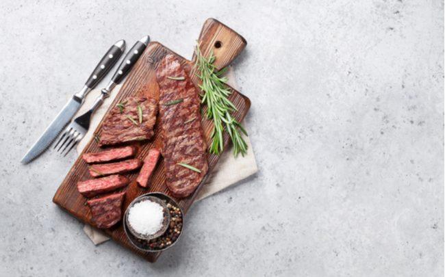 carne nobre sobre a mesa - SEPAC