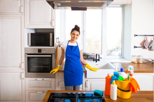 Como manter a limpeza da cozinha