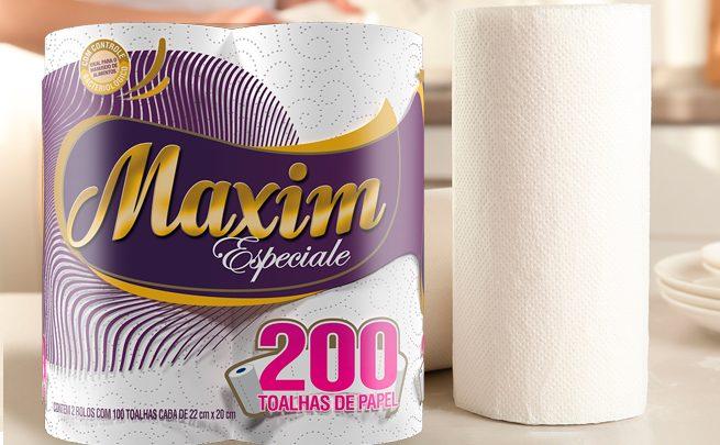 Linha Maxim Especiale sobre a mesa