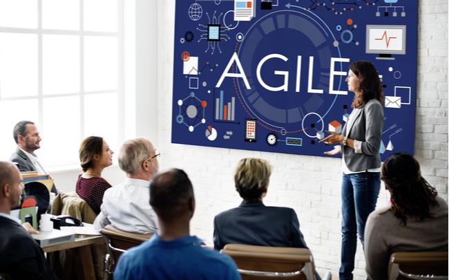 Qual a definição de agilidade de aprendizagem