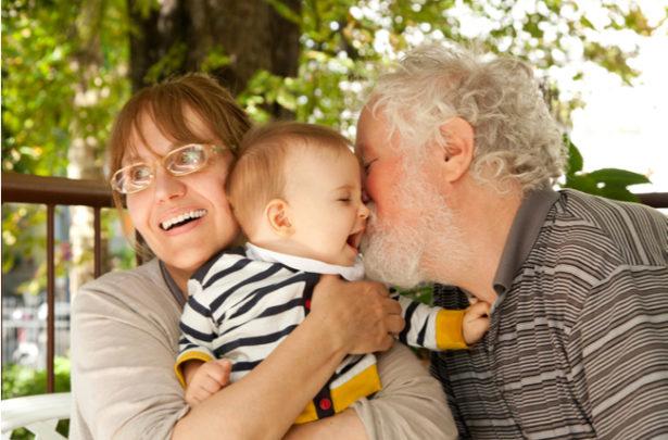 A importância dos avós na vida dos bebês