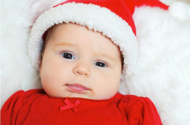 O primeiro Natal do bebê