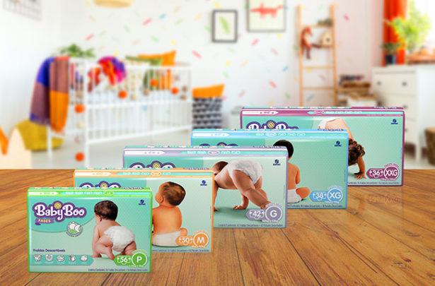 Linha BabyBoo Fases: conforto em todas as fases do seu bebê