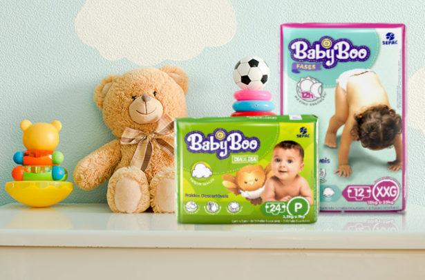 Fraldas BabyBoo: absorção e suavidade para o seu bebê