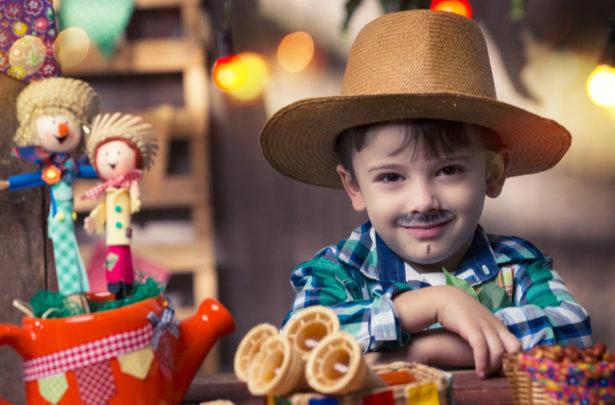 Inspiração festa junina infantil - BabyBoo