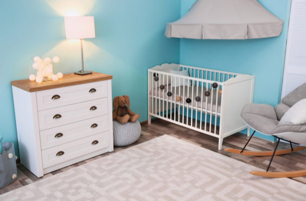 A iluminação no quarto do bebê - BabyBoo
