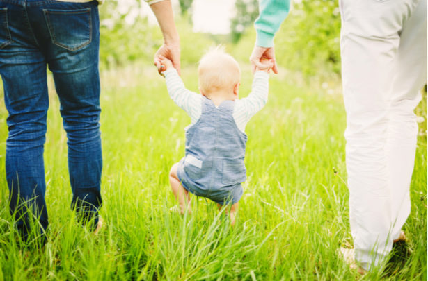 Contato com a natureza - os benefícios para bebês - BabyBoo