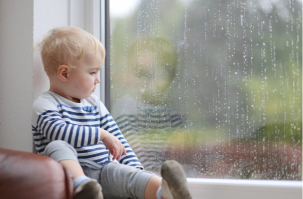 Coisas para fazer com as crianças em dias de chuva