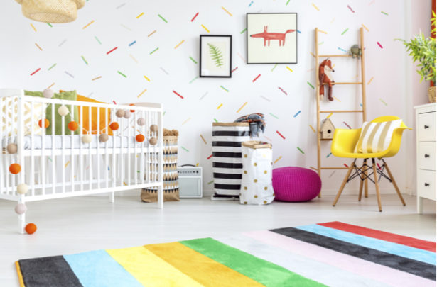 Cores do quarto do bebê