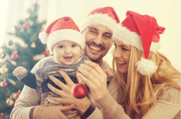 Como deixar o Natal com o seu bebê mais especial
