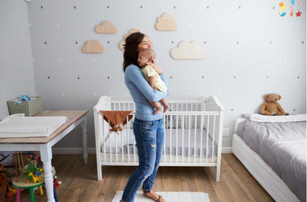 Táticas para acalmar o choro do bebê