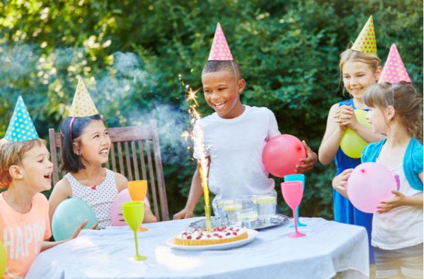 A evolução das festas infantis