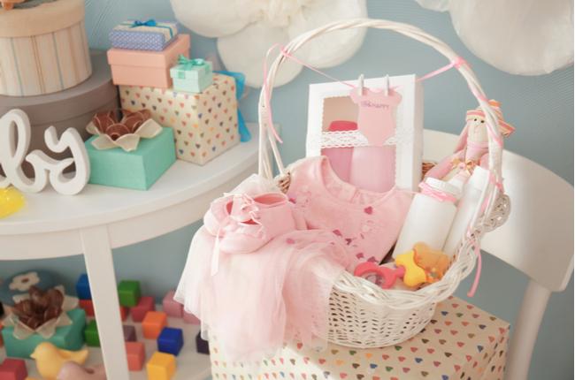 Presentes originais e muito úteis para o recém-nascido. Kit para Casa - BabyBoo