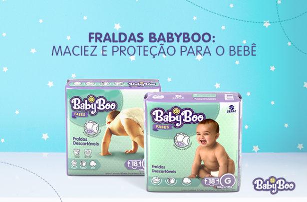Fraldas BabyBoo - Maciez e Proteção para o Bebê_Fases