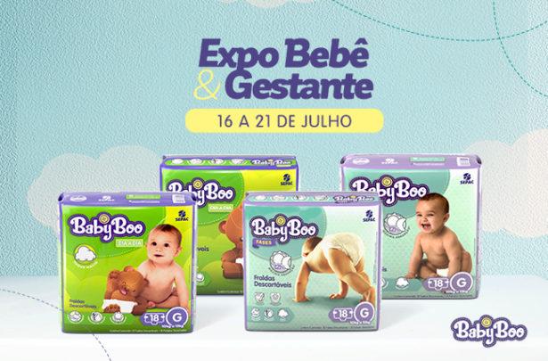 Linha BabyBoo na Expo Bebê & Gestante - BabyBoo