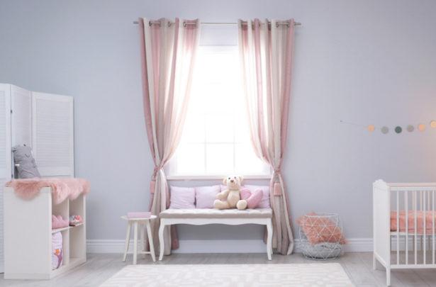 Cortinas para o quarto do bebê - BabyBoo